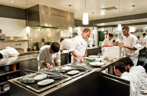 Clean Restaurant Kitchen